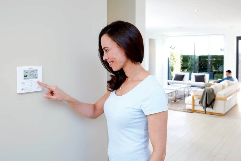 Daikin's Intuitive Wired Controller Provides Ultimate Control