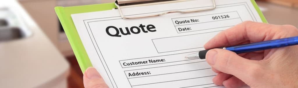 Get a quote for your new air conditioner.